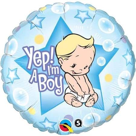 Baby Boy Foil Balloon